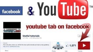 Youtube tab on facebook fan page - how to add an youtube tab for facebook