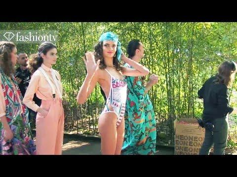 Barbara Fialho Behind the Scenes at Neon Spring/Summer 2013 | Sao Paulo Fashion Week | FashionTV