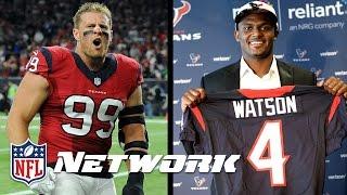 Do J.J. Watt & Deshaun Watson Make Texans a Super Bowl Contender?   Good Morning Football   NFLN