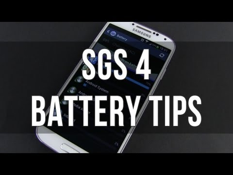 Samsung Galaxy S4: battery life tips and tricks