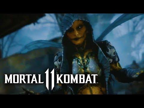 Mortal Kombat 11 -  Official Kitana & D'Vorah Reveal Trailer