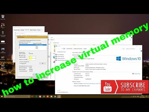 how to increase virtual memory | virtual memory increase tutorial(100% proof)
