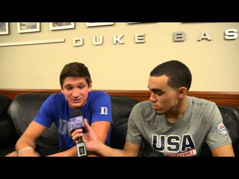 1 on 1 with the Freshmen: Grayson Allen