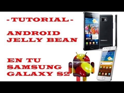 (TUTORIAL) Instalar Android 4.1.2 Jelly Bean en tu Samsung Galaxy S2
