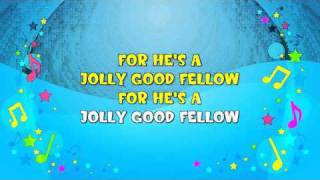 For He's a Jolly Good Fellow | Sing A Long | Birthday Party | Congratulations Song | KiddieOK