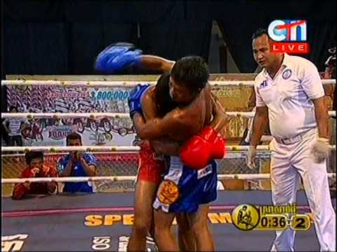 CTN Boxing, Koun Lunky VS Sol Even, 24-Aug-2014, Round 02
