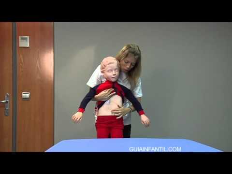 RCP (Reanimación Cardio-Pulmonar) En niños mayores a un año.