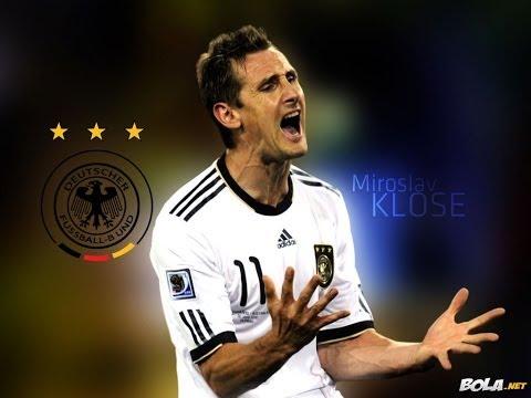 Miroslav Klose Historico Goleador Mundiales - Top scorer Miroslav Klose in the world.- Brasil 2014
