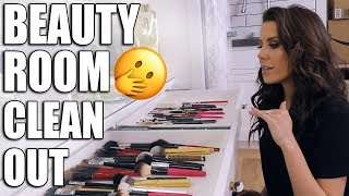 BEAUTY ROOM CLEAN OUT ... GETTING ORGANIZED