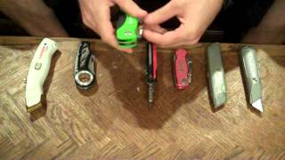 Utility Knife Review