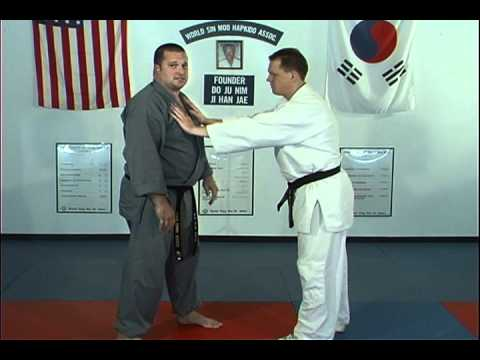 Hapkido Pushing Chest Techniques 1 thru 3 Image 1