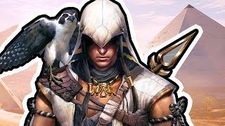 ASSASSIN'S CREED ORIGINS Gameplay Walkthrough Part 1 (PS4) - THIS GAME IS GOOD & BEAUTIFUL!?