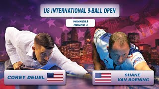 Corey Deuel - Shane Van Boening | US International 9-Ball Open 2018