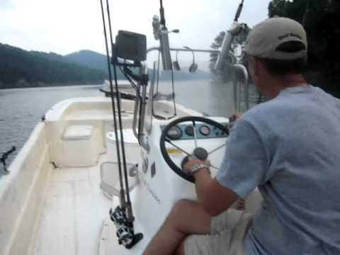 Striper fishing @ Lake Allatoona