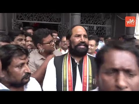 TPCC Cheif Uttam Kumar Reddy Demands CM KCR On Muslims Reservation In Telangana | YOYO TV Channel