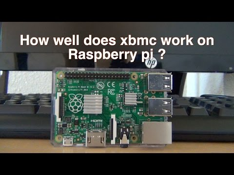 How well does xbmc work on raspberry pi B+?