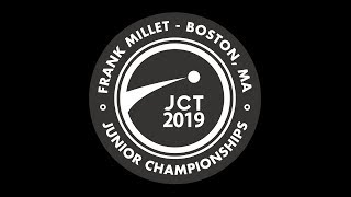 Frank Millet Junior Championships (JCT) - Saturday