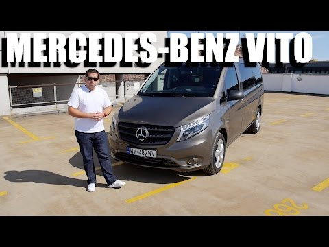 Mercedes-Benz Vito Tourer 119 BlueTEC (ENG) - Test Drive and Review