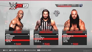 WWE 2K19 PS4/XB1 - Special Guest Referee Match - Epic Gameplay Notion