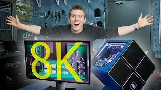 Dell's 8K Monitor - Gaming, Video Creation & Consumption!