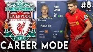 FIFA 19 Liverpool Career Mode EP8 - OMG We Found The Next Gerrard!!