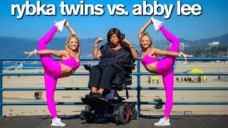 Dance Moms ABBY LEE VS RYBKA TWINS Insane Acro Photo Challenge