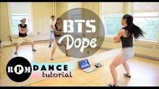 "BTS ""Dope"" Dance Tutorial (Choruses)"