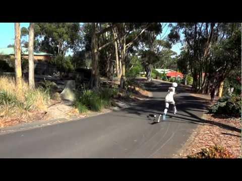 Longboarding || Zak Hussain Shreds Australian Gradients