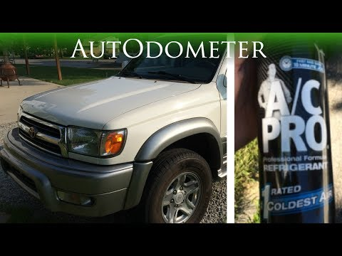 How to add Refrigerant to Toyota    1999 Toyota 4runner