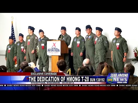 Suab Hmong News:  Exclusive Covered The Dedication of Hmong T-28 BuNo (Bureau Unit Number) 138192