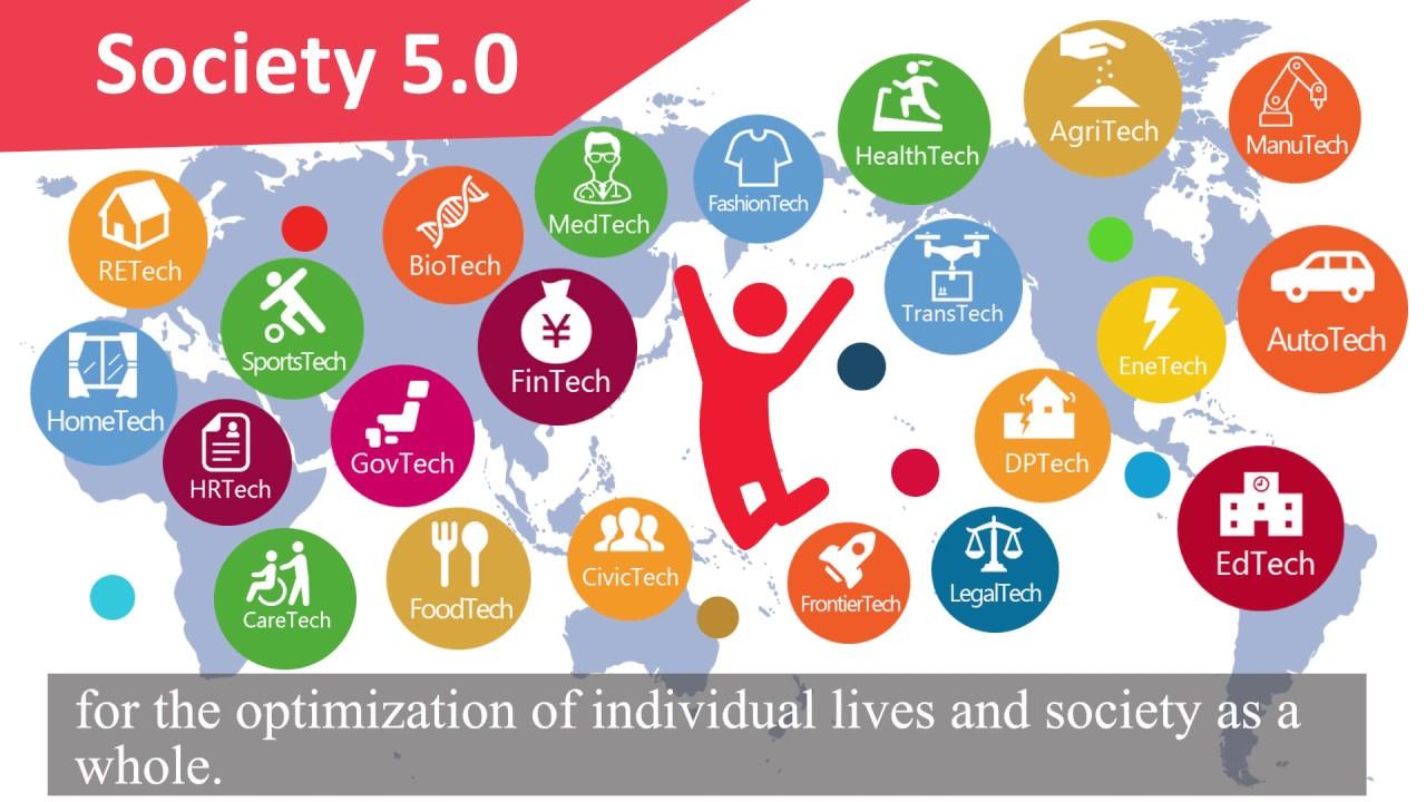 "Message from Chairman Nakanishi: ""Society 5.0 for SDGs"" creates the future"