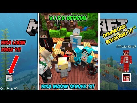 NO CLICKBAIT !!! MINECRAFT 1.5.0 OFFICIAL BISA SIGN IN XBOX DAN MASUK SERVER MAUPUN REALMS