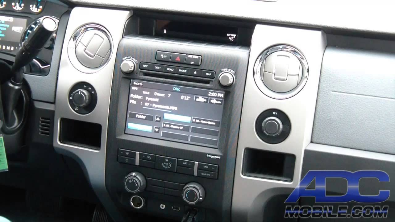 Advent Oe Navigation For Ford F 150 Cd Dvd Operation
