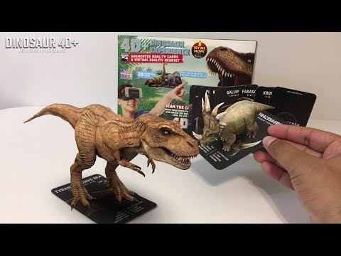 UNBOXING & LETS PLAY - Utopia 360° 4D+ DINOSAUR EXPERIENCE! - AUGMENTED REALITY VR Flash Cards!
