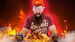 BRITAIN'S HOTTEST WING CHALLENGE | 6.4 MILLION SCOVILLE HOT WINGS | C.O.B. Ep.116