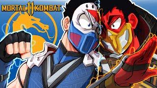 Mortal Kombat 11 - NEW FATALITIES & CHARACTER! (Cartoonz Vs Delirious)