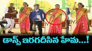 Actress Hema Dancing at Prakriya Ventures | Actress Hema | Siva Reddy | Kajal | TTM