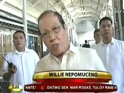 PRES  NOYNOY AQUINO Impersonator WILLIE NEPOMUCENO is P NOI   July 1, 2010 mpeg2video