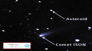 Nibiru  Huge Object Travelling With Comet ISON 2013