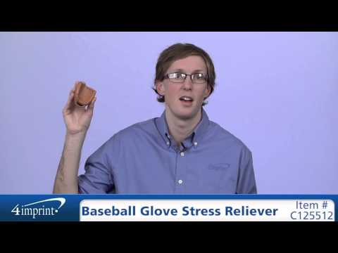 Personalized Baseball Glove Stress Reliever – Promotional Stress Relievers by 4imprint