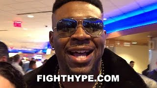 "JARRELL MILLER RIPS WILDER AND FURY ""HORRIBLE FIGHT""; SAYS JOSHUA GOT HIS NUMBER ON SPEED DIAL"