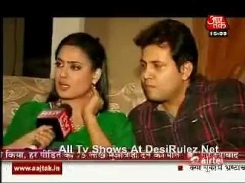 Shweta tiwari nd Abhinav Kohli Love Story.. Interview.. 3rd January 2012.. SBB