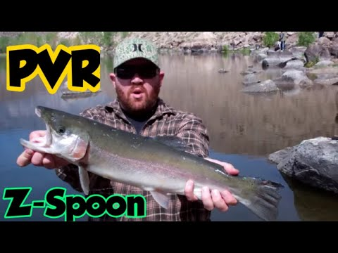 Huge Rainbow Trout Caught @ Pleasant Valley Reservoir Bishop,CA!!