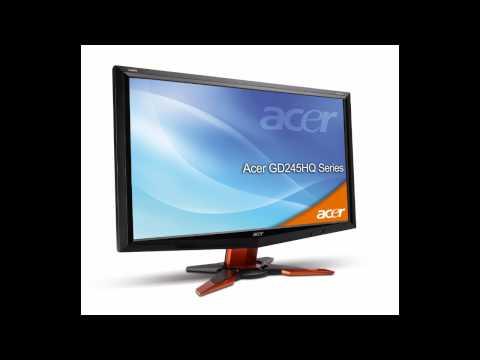 Acer Gd245hq Neues 3d Gaming-display Mit Full Hd Und 2 Ms Reaktionszeit