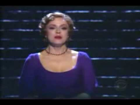 Bernadette Peters - Roses Turn - Tony Awards