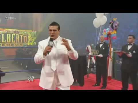 Alberto Del Rio has a Fiesta for Rey Mysterio Jr