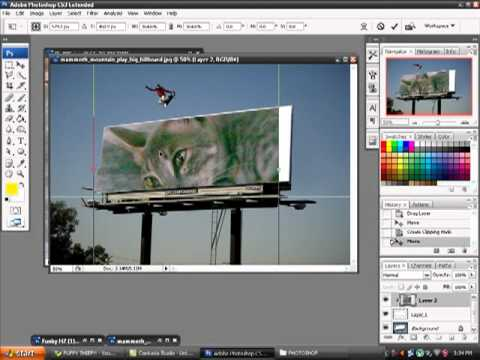 How To Cut Yourself Out On Photoshop And Put It On A Different