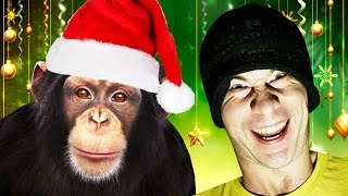 TALKING ABOUT CHRISTMAS WITH A CHIMP! (Chimbot)