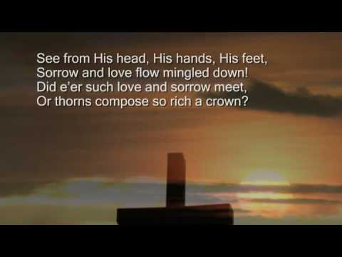 Hymnal - When I Survey The Woundrous Cross