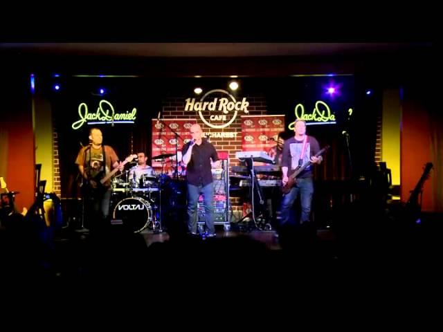 Voltaj - Povestea oricui live @ Hard Rock Cafe Bucuresti